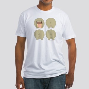 One of These Hippos! Fitted T-Shirt