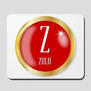 Z For Zulu Mousepad