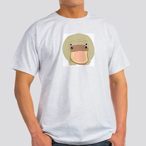 One Hippo! Ash Grey T-Shirt