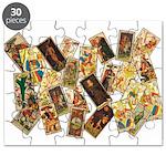 Historic Tarot Puzzle