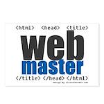 Webmaster Postcards (Pack of 8)