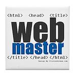 Webmaster Tile Coaster