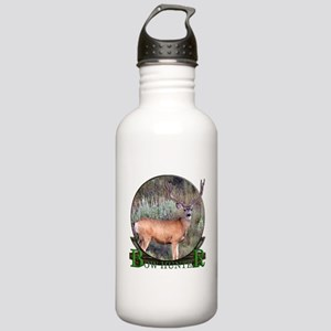 bow hunter, trophy buck Stainless Water Bottle 1.0