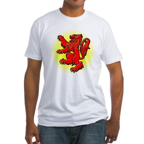 The Declaration of Arbroath Fitted T-Shirt