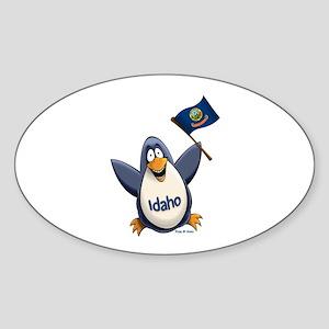 Idaho Penguin Sticker (Oval)