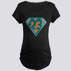 Ronnie Brown Super 23 Color Maternity Dark T-Shirt