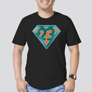 Ronnie Brown Super 23 Color Men's Fitted T-Shirt (