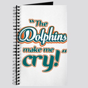 The Dolphins make me cry Journal