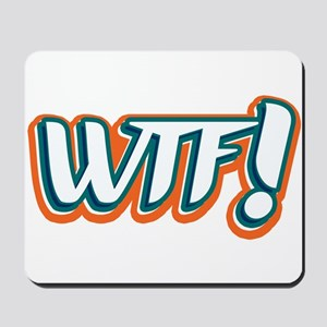 What the F! Mousepad