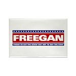 FREEGAN Rectangle Magnet (10 pack)