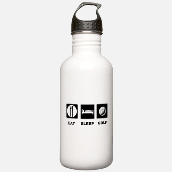 Eat Sleep Golf Water Bottle