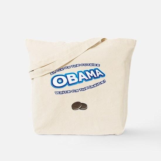 Obama Oreo Tote Bag