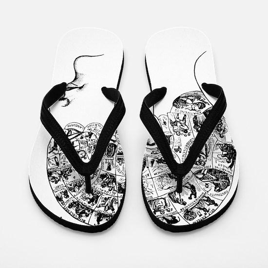 know thyself Flip Flops