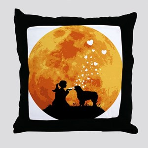 Australian Shepherd Dog Throw Pillow