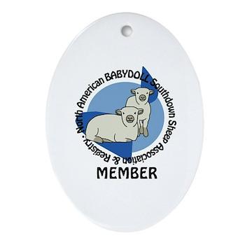 NABSSAR Member logo Ornament (Oval)