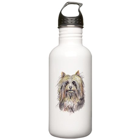 Silky Terrier Stainless Water Bottle 1.0L