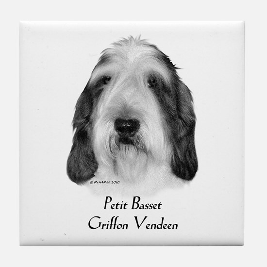 Petit Basset Griffon Vendeen Tile Coaster