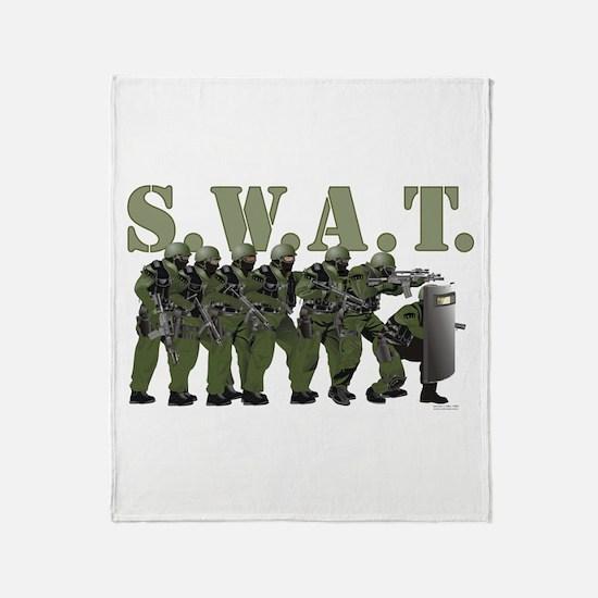 SWAT Throw Blanket