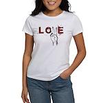 Love Peace V Women's T-Shirt