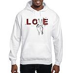 Love Peace V Hooded Sweatshirt