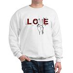 Love Peace V Sweatshirt