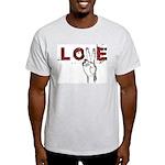 Love Peace V Light T-Shirt