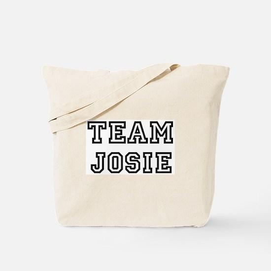 Team Josie Tote Bag
