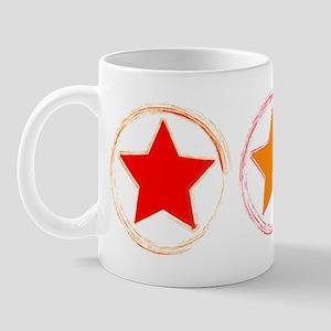Indie Red Emo Star Mug
