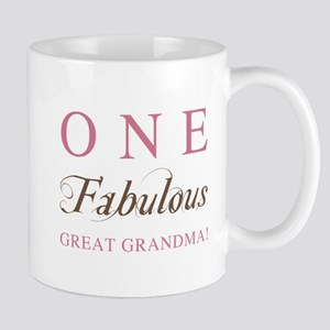 One Fabulous Great Grandma Mug