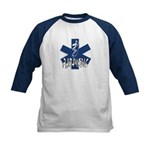 Paramedic Action Kids Baseball Jersey