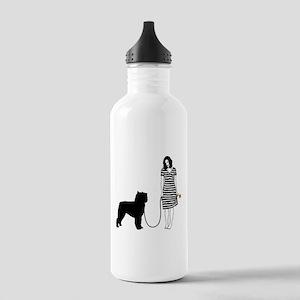 Bouvier des Flandres Stainless Water Bottle 1.0L
