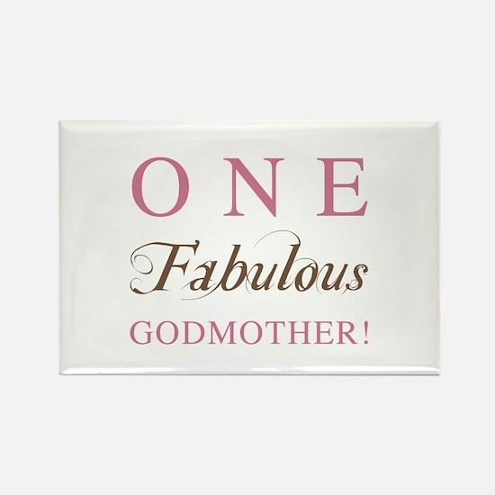 One Fabulous Godmother Rectangle Magnet