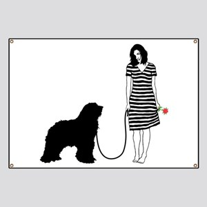 Bergamasco Sheepdog Banner