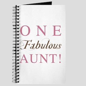 One Fabulous Aunt Journal