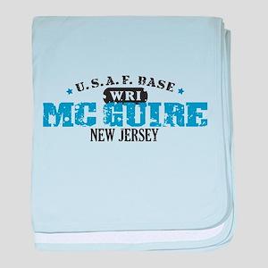 McGuire Air Force Base baby blanket