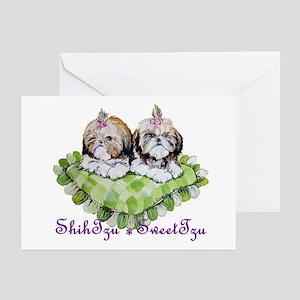 SWEET TZU SHIH TZU! Greeting Cards (Pk of 10)