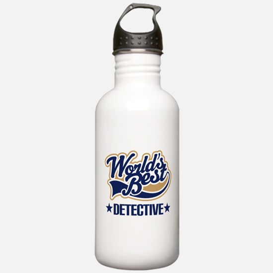 Detective Gift Water Bottle
