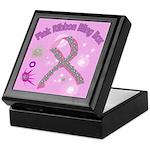 Pink Ribbon Bling Keepsake Box