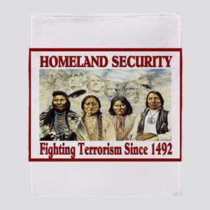 HOMELAND SECURITY Throw Blanket
