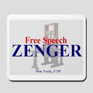 ZENGER - Foundation for the 1st Amendment Mousepad