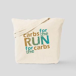 RUN Carbs Tote Bag