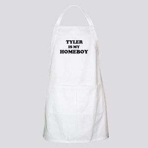 Tyler Is My Homeboy BBQ Apron