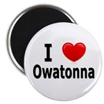 I Love Owatonna Magnet