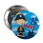 "Pirate Boy 8th Birthday 2.25"" Button (100 Pk)"