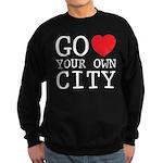 Go love your own City origina Sweatshirt (dark)