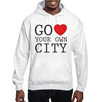 Go love your own City origina Hooded Sweatshirt