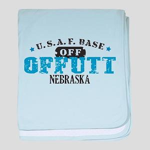 Offutt Air Force Base baby blanket
