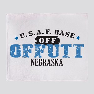 Offutt Air Force Base Throw Blanket