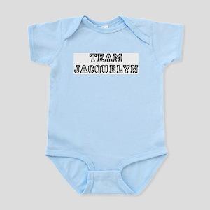 Team Jacquelyn Infant Creeper