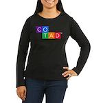 Cotad Logo Long Sleeve T-Shirt (front+back Design)